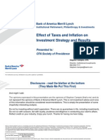Providence Society Impact of Taxes and Inflation[1]