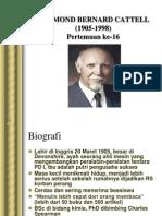 16.Raymond Bernard Cattell