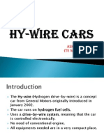 Hy-Wire Cars Ppt