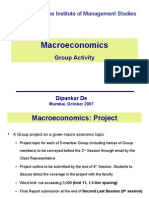 Macroeconomics Assignments
