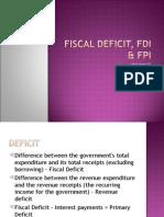 Fiscal Deficit 2003 Format