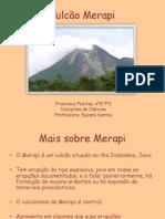 Vulcão Merapi powerpoint