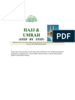 Umrah & Hajj Procedure