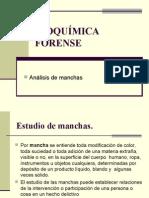 Clase005 Manchas Bioquímica Forense