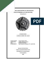Laporan Hasil Pemeriksaan Ortodontik Ummu (New)