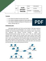 1 VLAN (Packet Tracer)