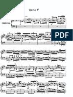 Bach - Suite Anglaise - Suite 5
