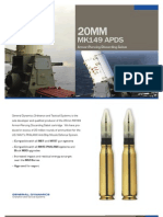 20MM MK149 APDS Armor-Piercing Discarding Sabot