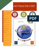1erBulletin_Rotaract_District9220