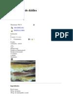 Empanada de dátiles y otras