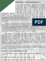 NO a las OPOCIONES AL CUERPO DE MAESTR@S 2011 de la Comunidad de Madrid
