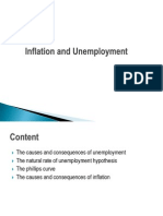 Inflation and Unemplyment
