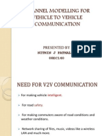 Channel Modelling for Vehicle to Vehicle Communication (1)
