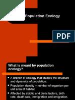8.3 Population Ecology