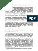 Movilización de Infantil y Primaria