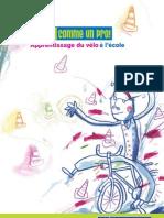 Apprentissage du vélo à l'école (IBSR)