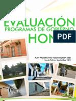 EVALUACIÓN FINAL PROGRAMAS DE GOBIERNO HONDA