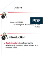 Cost Structure HO