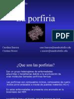 Exposición_Porfíria_Introducción a Bioquímica II
