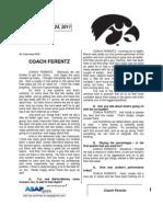 Coach Ferentz 9 24 11