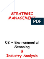 02 - Environmental Scanning and Industry Analysis