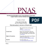 On Restricted Partitions and a Generalization of the Euler Varphi Number and the Moebius Function