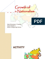 The Growth of Asian Nationalism