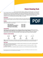 Clock Drawing Task Instructions