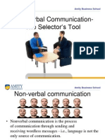 Non-Verbal Commn Slectors Tool