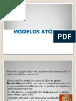 MODELOS ATOMICOS y enlaces 8ºA