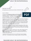 Linda Jordan, U.S. Citizen & Employer, sends E-Verify Failure Notice Letter to Barack Obama