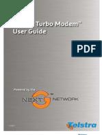 Manual Internal Development Telstra Turbo Modem 210907