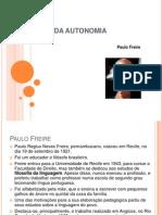Pedagogia Da Autonomia Aula 3