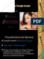 Técnicas en Terapia Sexual