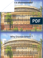 Disinvestment Project Ppt