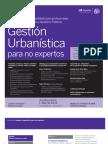 Gestión Urbanística para no expertos (iir)