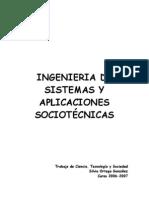 Ingenieria de Sistemas y Aplicaciones Sociotc3a9cnicas