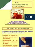 Miel des Alimenticias y Nutraceuticas