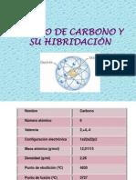 ÁTOMO DE CARBONO Y SU HIBRIDACIÓN