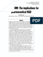 HRM Pharmaceutical R&D