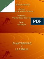 Diapositivas Sobre El Matrimonio y Uniones de Hecho