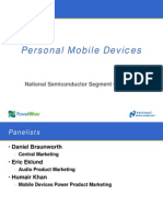 Personal Mobile Devices Customer