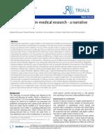 Reporting Bias skews medical research (2010)