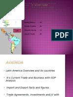India Trade With Latin America