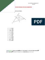 Ejercicios Resueltos Sobre Congruencia Triangular