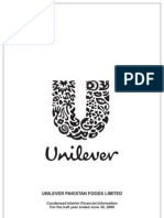Unilever Foods Pakistan Half Year Report 2009_tcm96-184159