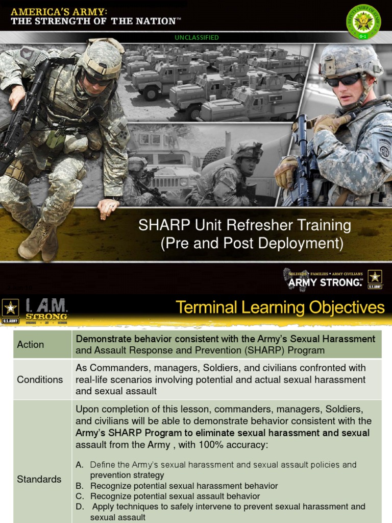 military sharp program