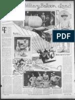 WWI 1st Balloon Squadron