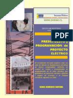 diseño, presupuesto y programacion de proyectos electricos