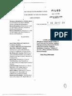 Hurshman v. Saint Mary Help of Christians Catholic School (D.S.C. 2003) - Complaint